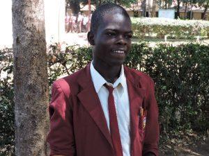 kenyan scholarship student